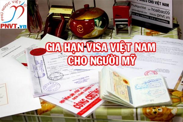 Gia hạn visa Mỹ tại TPHCM