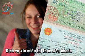dịch vụ xin giấy miễn thị thực 5 năm