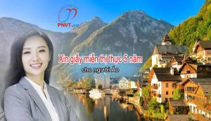 xin cấp giấy miễn thị thực 5 năm cho người Áo