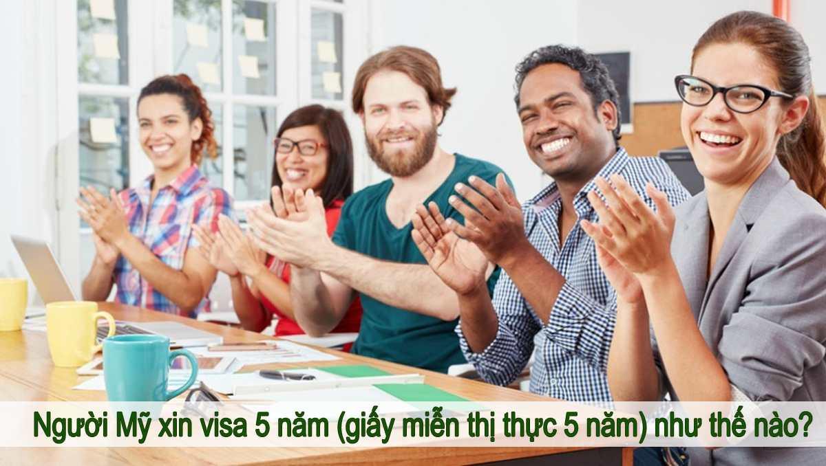 xin miễn thị thực cho người Mỹ