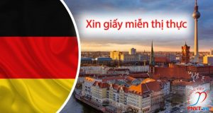 xin giấy miễn thị thực tại Đại sứ quán Việt Nam tại Đức